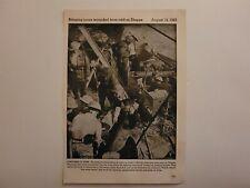 Dieppe Raid British Destroyer Ship 1942 World War 2 WW2 Picture Sheet