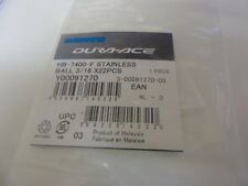 """Shimano HB-7400-F stainless ball bearings Y00091270 22x 3/16"""""""