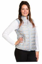 Ladies Padded Gilet Down Feather Lining Body warmer Lightweight Pink Blue Floral