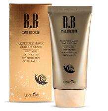 Aenepure Magic Snail BB cream SPF50 PA+++ /Whitening,Anti-Wrinkle,Sun protection