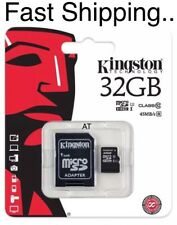 32GB NEW Kingston Micro SD SDHC 32GB Memory Card Class 10 with SD Card Adapter