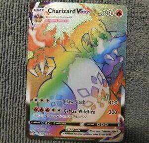 Rainbow Charizard VMAX