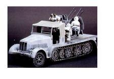 Tamiya 35050 - 1/35 WWII Dt. Halbkette Mit Vierling Flak + Mannschaft - Neu