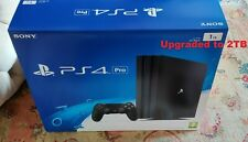 PS4 Pro Sony Playstation 4 2TB HDD Black Console Box Accessories Controller 2TB