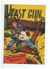 Page Publications The Fast Gun #48 F/VF 1960's Australian