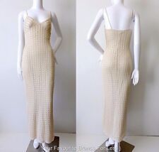 HOTLINE by CHERYL T.  Vintage Sleeveless Maxi Dress Size Small Made in Australia