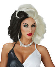 Cruella De Vil Adult Women Costume Wig