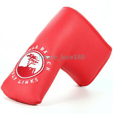 2016 Pebble Beach Red Golf Putter Covers Head Cover for Callaway Taylormade Ping