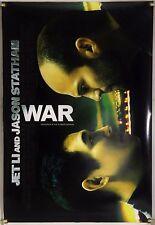 WAR DS ROLLED ORIG 1SH MOVIE POSTER JET LI JASON STATHAM ACTION (2007)