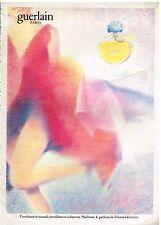 """Publicité Advertising 1982 Parfum """"Shalimar"""" par Guerlain"""