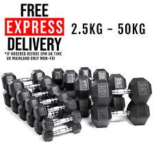 York Fitness Single Neoprene Hex Coating Dumbbell Black 7 Kg