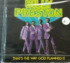 BILLY PRESTON- THAT'S THE WAY GOD PLANNED IT*CD NEW SEALED NUOVO SIGILLATO RARO