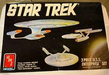 Star Trek 3pc Enterprise Kit by Amt