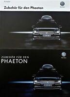 Original VW Zubehör für den VW Phaeton Prospekt 02/2014 + Preisliste Brochure