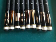 Custom Made To Order Cue Billiard Stick Inlay Inlaid Art One Kind Free Ship BBRC