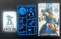 Games Workshop Warhammer 40K Space Marine Heroes Brother Castor with Bolter