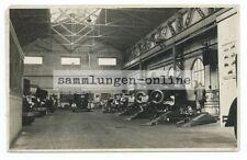 historisches Foto Autowerkstatt Automobil Oldtimer Auto Foto Photograph Photo
