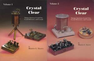 Crystal Clear Volumes 1 and 2 - ID Books - Crystal Radio Set Detector Receiver
