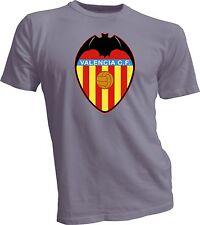 VALENCIA CF Espana Spain Soccer Football Jersey Gray T-SHIRT Camiseta NEW s-4x