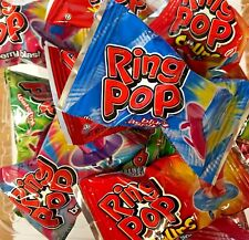 Bulk Ring Pops Assorted Fruit Flavor Candy - 25 COUNT POPS -  FREE SHIPPING