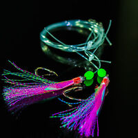 5x Black Label Rig Magic Fishing Rigs 5/0 Circle Hook Snapper Pink Original