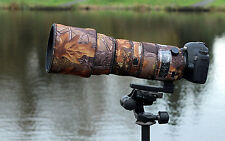 Sigma 150 600mm Sport Protective Neoprene lens cover English Oak