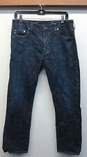 "EUC!! Adriano Goldschmied Men's Blue Jeans ""The Graduate tailored leg"" W32 L32"