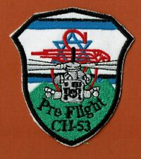 Israel Idf Iaf Helicopters Pre Flight Ch-53 Rare Patch