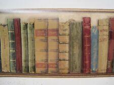 """BOOKS BOOKCASE LIBRARY  Wallpaper Border 8 1/4"""""""