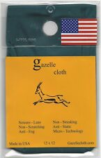 GAZELLE CLOTH CLEANING CLOTH FOR IPHONE, IPAD, TABLETS, LAPTOPS, DIGITAL SCREENS