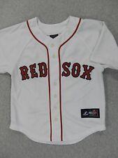 Boston Red Sox Majestic Replica Baseball Jersey (#20 Youkilis) Kids Size 8