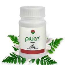 Pilief Tablets and cream Herbal Natural Remedy for Piles - 40 Tablets plus 20g t