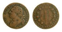 s55_10) France Louis XVI - 12 Deniers 1792 MA - FRANCOIS -  die clash