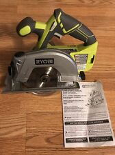 "Ryobi P506 18V One + Li-Ion NiCd Cordless 5-1/2"" Laser Circular Saw w/ Blade"
