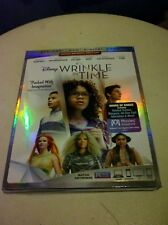 Disney A WRINKLE IN TIME (2018)--DVD + Digital HD Code***READ FULL LISTING***