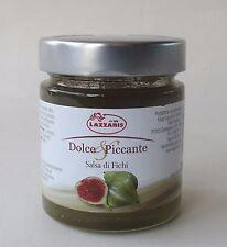 (3,30 �'� / 100g ) 250g LAZZARIS Feigen Senfsauce aus kandierten Feigen Italien
