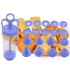 8 Düsen Plastic Icing Piping Cream Spritzenspitzen Set für Cake Decor Tool