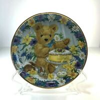 Franklin Mint Teddy's Easter Treat Collector Plate Fine Porcelain