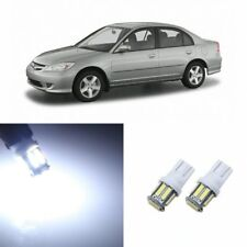 8 x Super Bright LED Lights Interior Package For Honda CIVIC 2001 - 2005 + TOOL