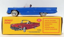 Atlas Editions Dinky Toys 555 - Ford Thunderbird Convertible - Blue