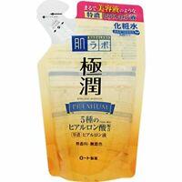 Rohto Hada Labo Gokujyun Premium Hyaluronic Lotion 170 ml Refill F/S s8019