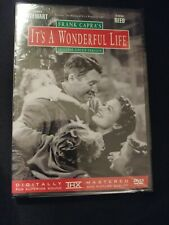 Frank Capra's It's a Wonderful Life Uncut DVD, 2001, James Stewart & Donna Reed