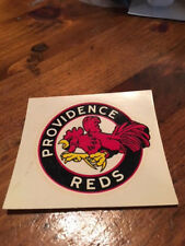 AHL PROVIDENCE REDS decal RARE Excellent condition