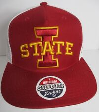 a53a530e545 Iowa State Cyclones Hat Cap Trucker Snapback USA Zephyr Embroidery NCAA New