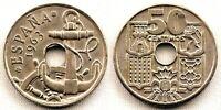 Estado Español - 50 Centimos 1963*19-65. Madrid. SC/UNC.
