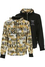 VERSACE JEANS COUTURE mens reversable hooded jacket size M (italy 48)