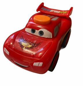 Fisher Price Disney Pixar CARS 2 Lightning McQueen Flashlight Talking Car Works