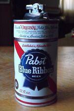 Vintage Original Pbr Pabst Blue Ribbon Beer Metal Can Table Lighter