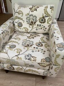 Molmic Armchair Made In Australia. Covered In Warwick Fabric.  Pick Up Glenbrook