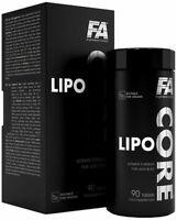 FA Fitness Authority LIPO CORE - Extreme Burner - Diät - Abnehmen + Bonus